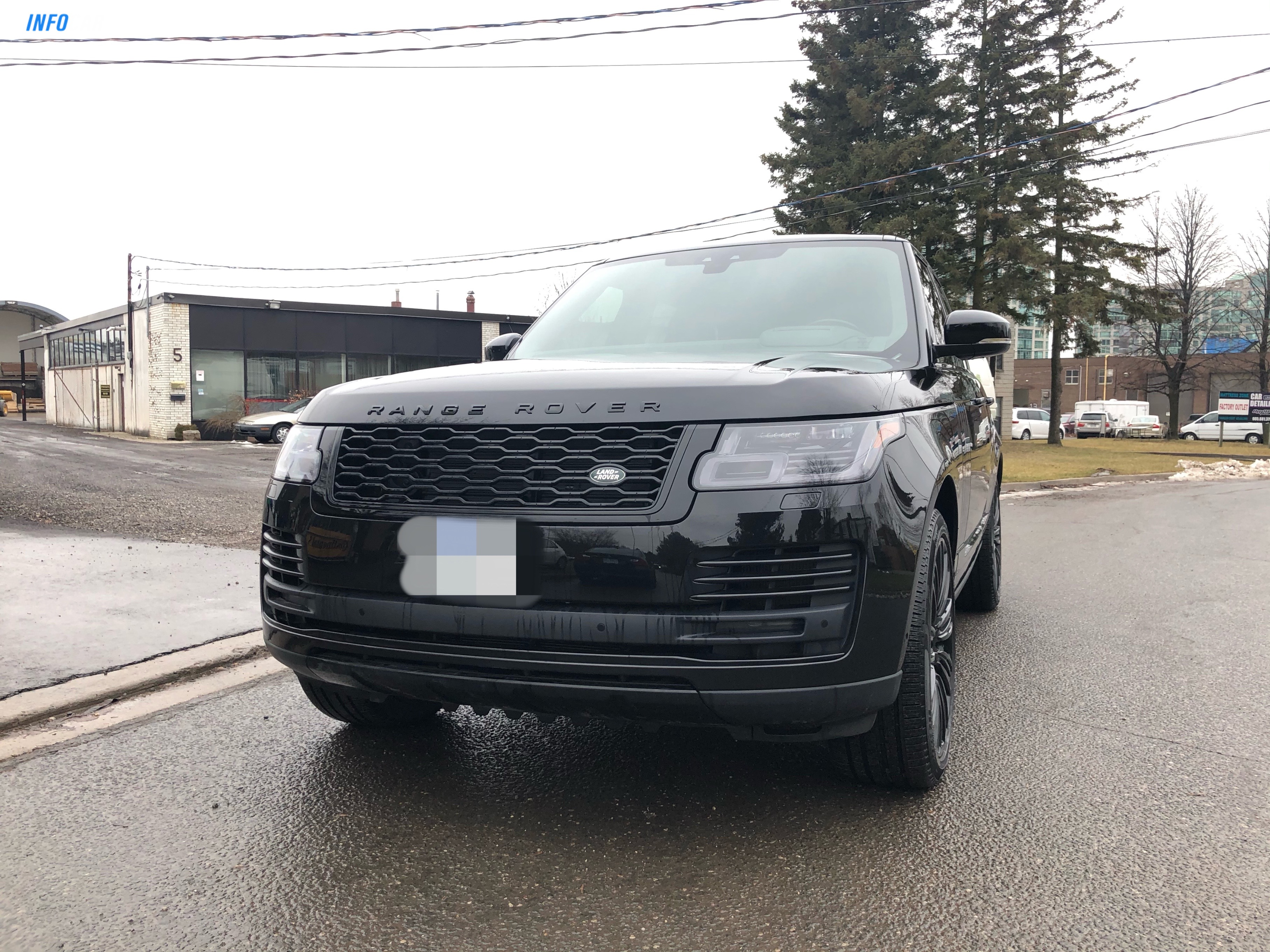 2019 Land Rover Range Rover V8 Supercharged - INFOCAR - Toronto's Most Comprehensive New and Used Auto Trading Platform