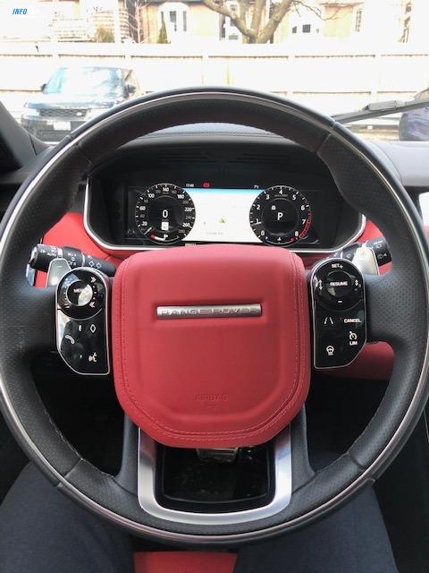 2019 Land Rover Range Rover Sport V8 ATB - INFOCAR - Toronto's Most Comprehensive New and Used Auto Trading Platform