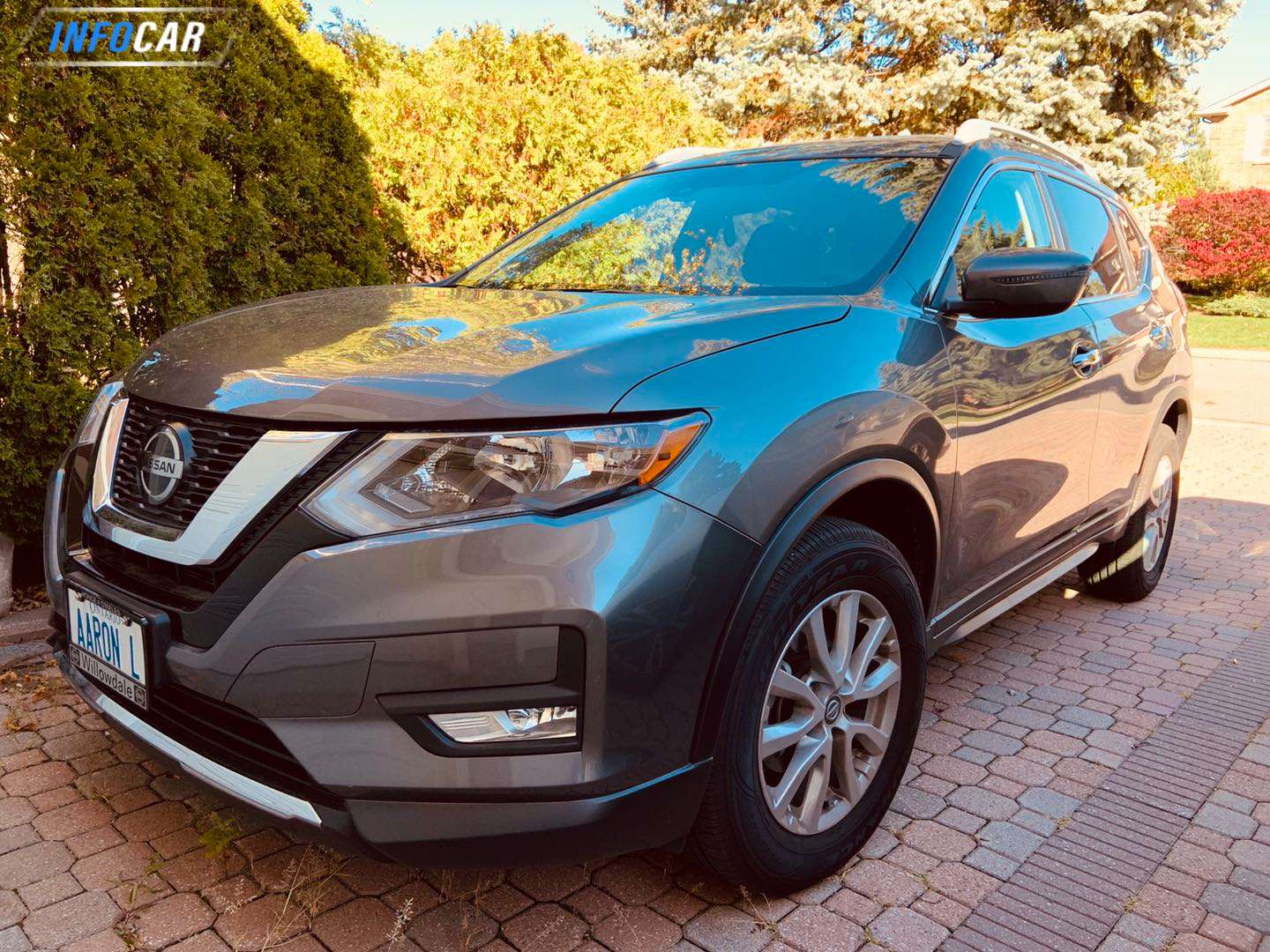 2020 Nissan Rogue Rogue - INFOCAR - Toronto's Most Comprehensive New and Used Auto Trading Platform