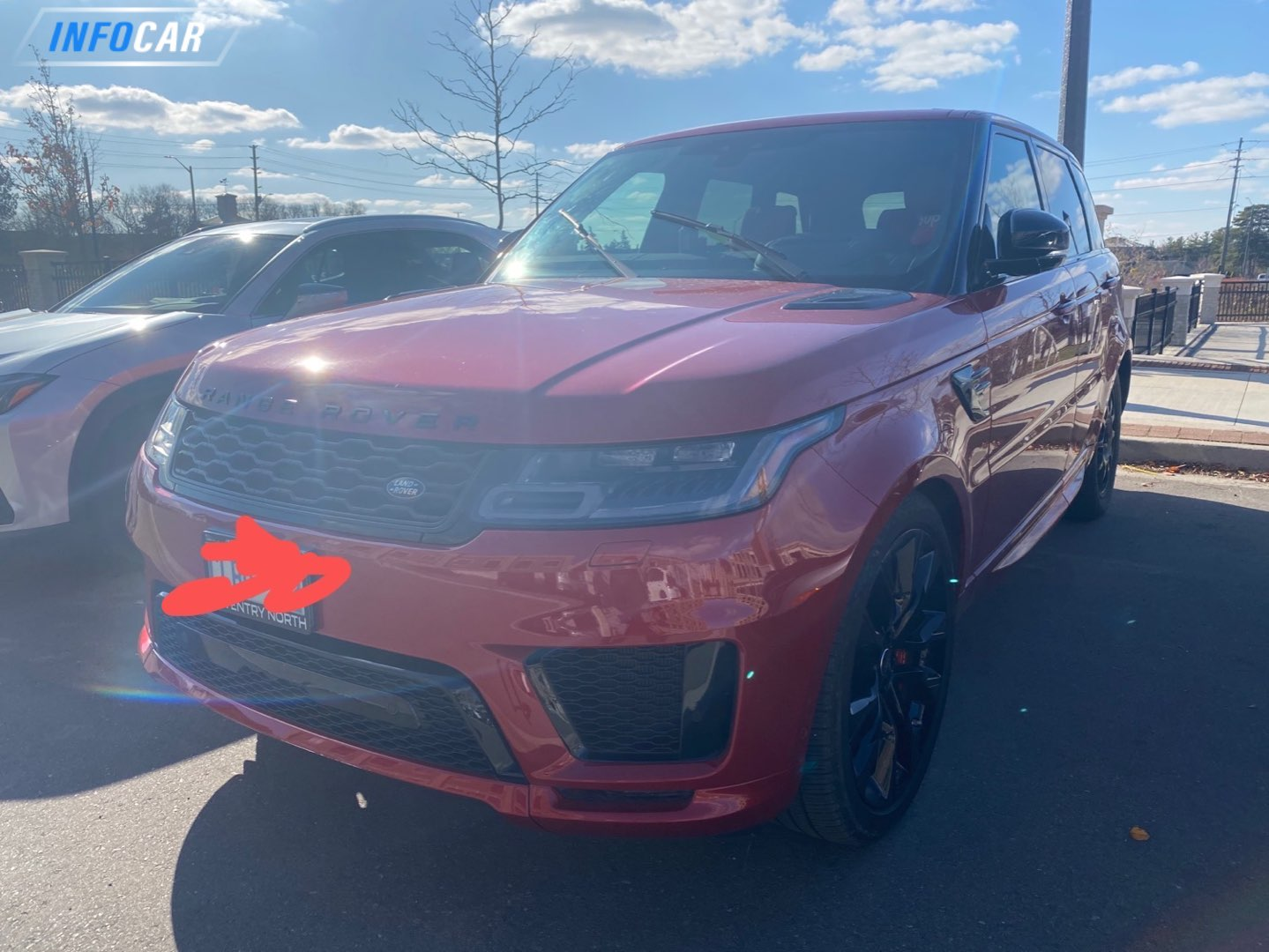 2020 Land Rover Range Rover Sport  - INFOCAR - Toronto's Most Comprehensive New and Used Auto Trading Platform