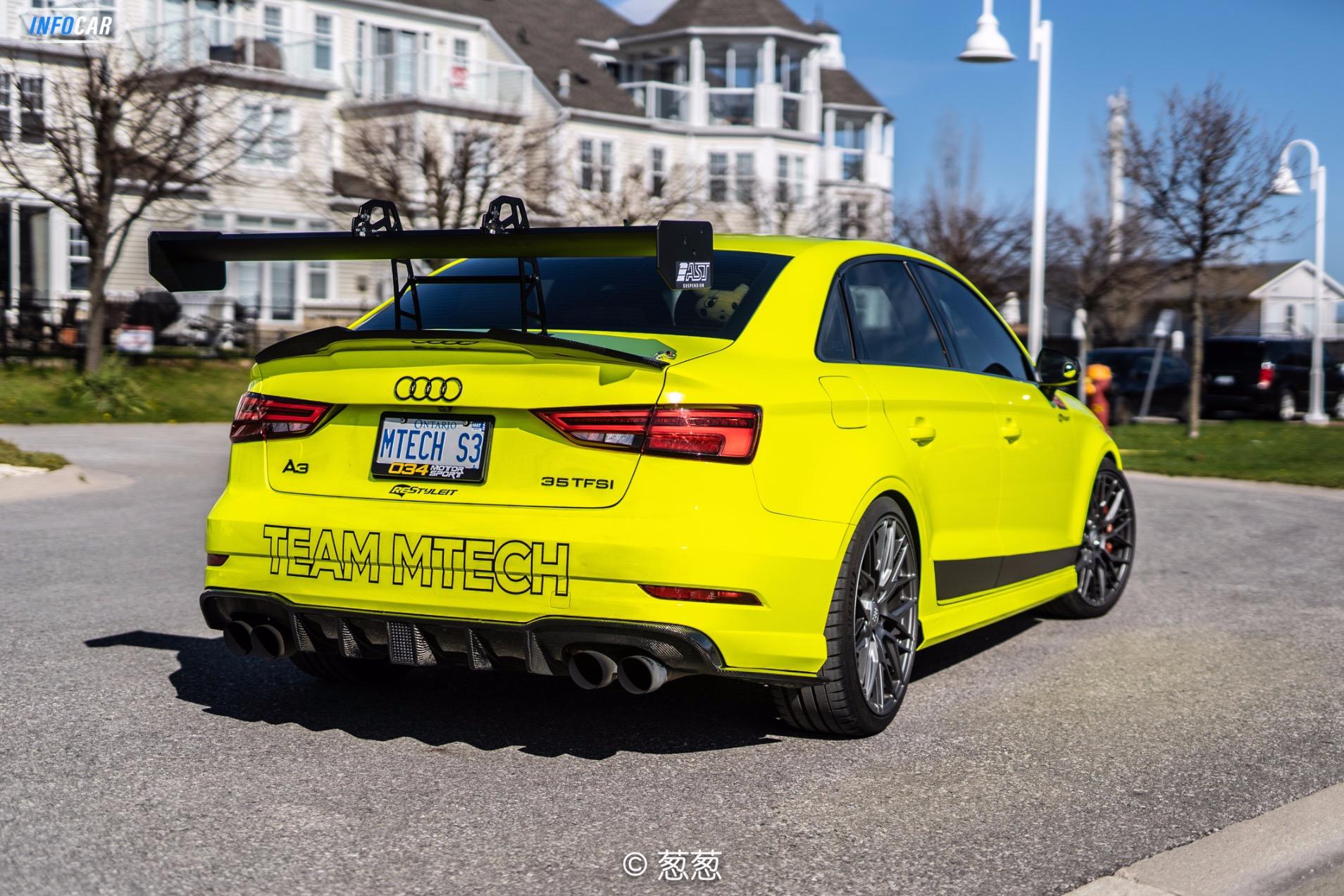 2018 Audi S3  - INFOCAR - Toronto's Most Comprehensive New and Used Auto Trading Platform