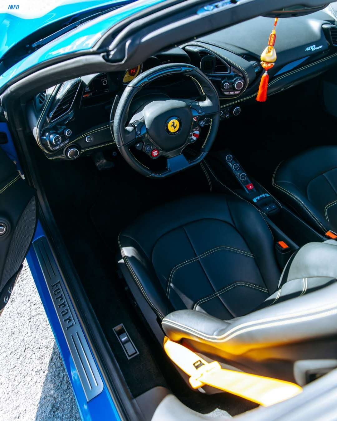 2018 Ferrari 488 spider - INFOCAR - Toronto's Most Comprehensive New and Used Auto Trading Platform
