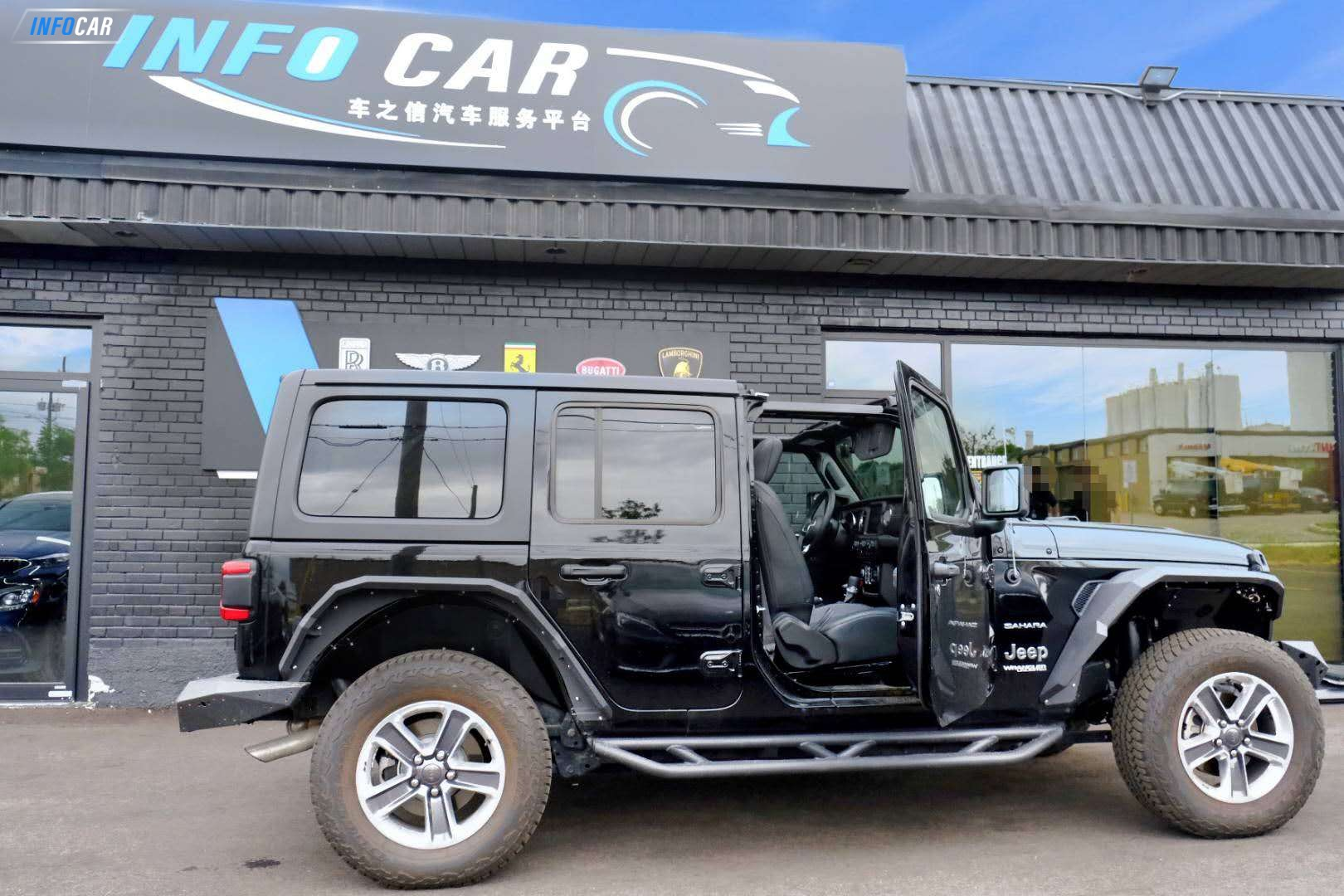 2019 Jeep Wrangler  UNLIMITED - INFOCAR - Toronto's Most Comprehensive New and Used Auto Trading Platform