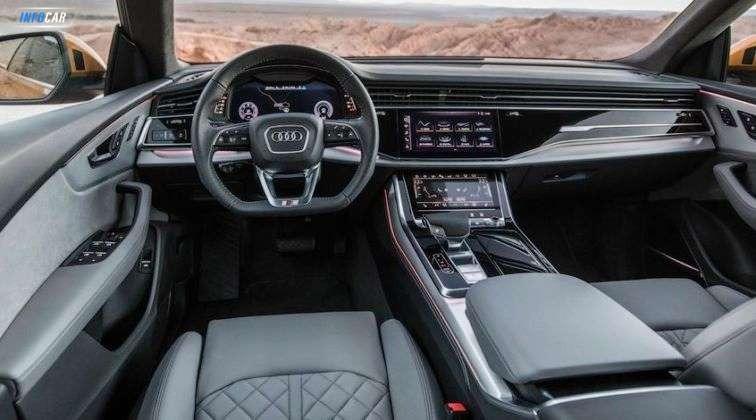 2020 Audi Q8    - INFOCAR - Toronto's Most Comprehensive New and Used Auto Trading Platform