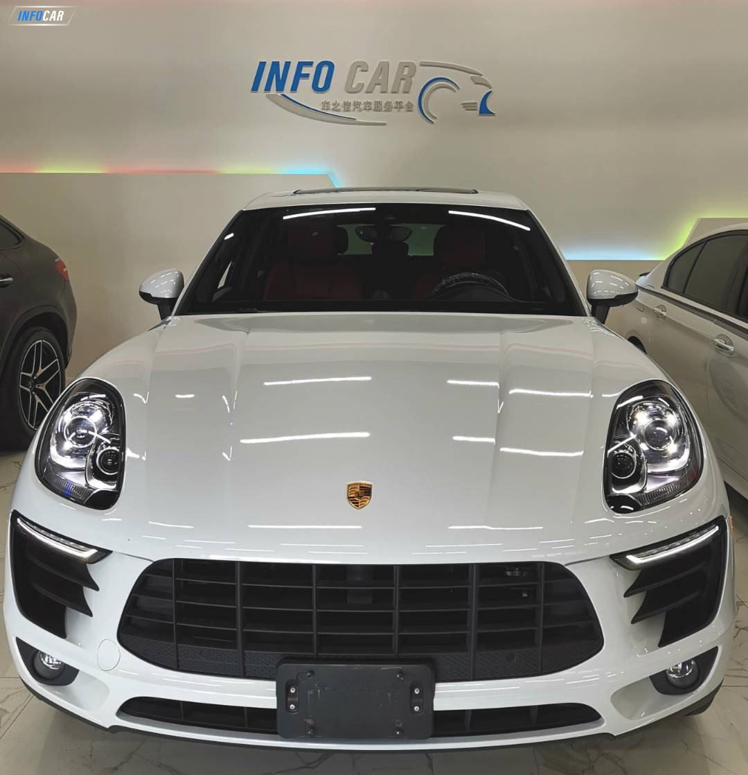 2017 Porsche Macan (可做lease ,finance) - INFOCAR - Toronto's Most Comprehensive New and Used Auto Trading Platform