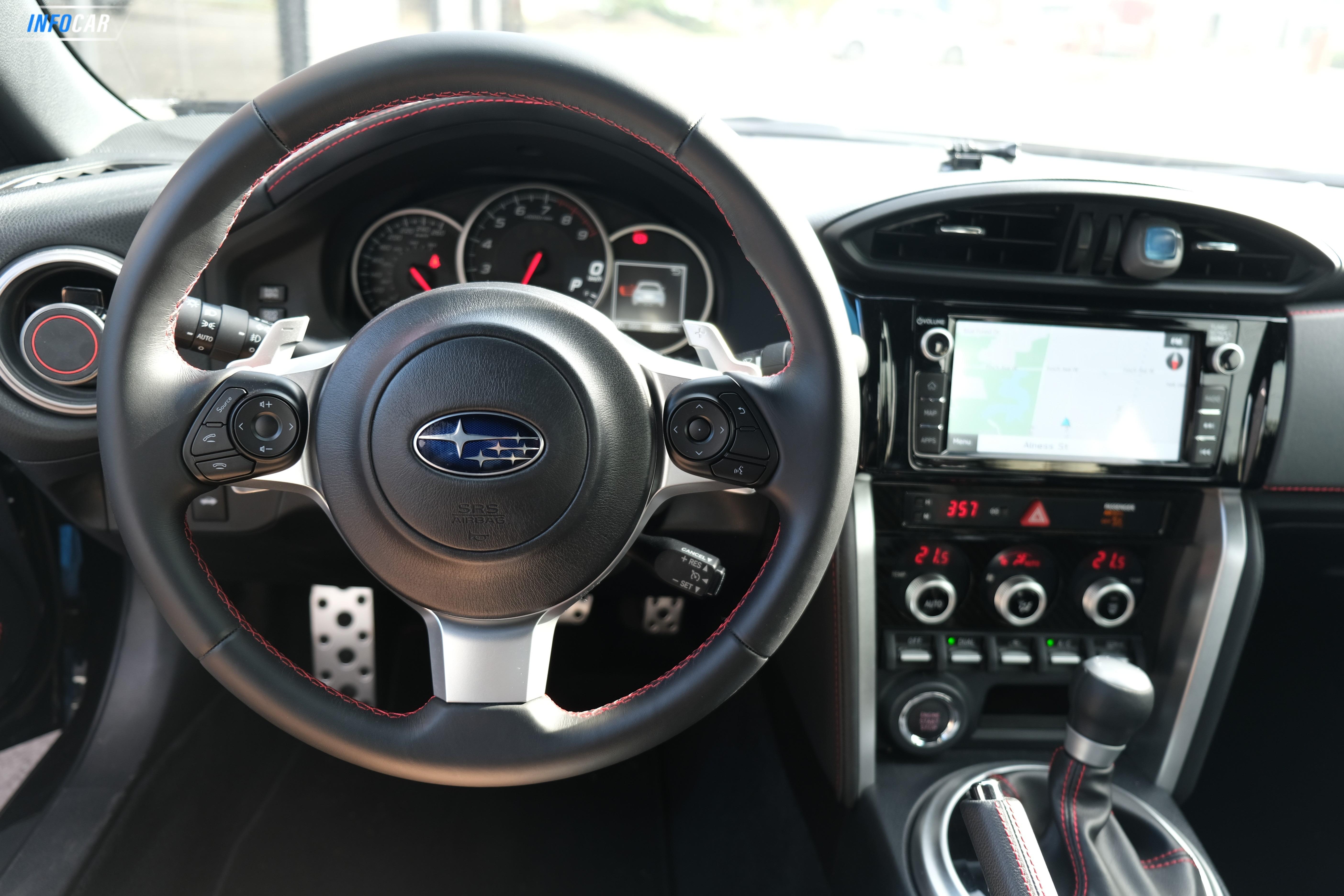 2020 Subaru BRZ SPORT TECH AT - INFOCAR - Toronto's Most Comprehensive New and Used Auto Trading Platform