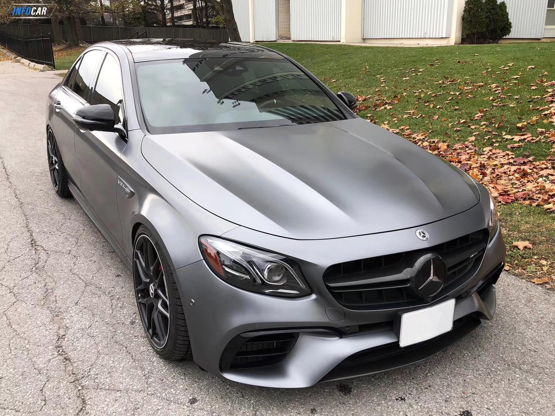2018 Mercedes-Benz E-Class E63s AMG - INFOCAR - Toronto's Most Comprehensive New and Used Auto Trading Platform