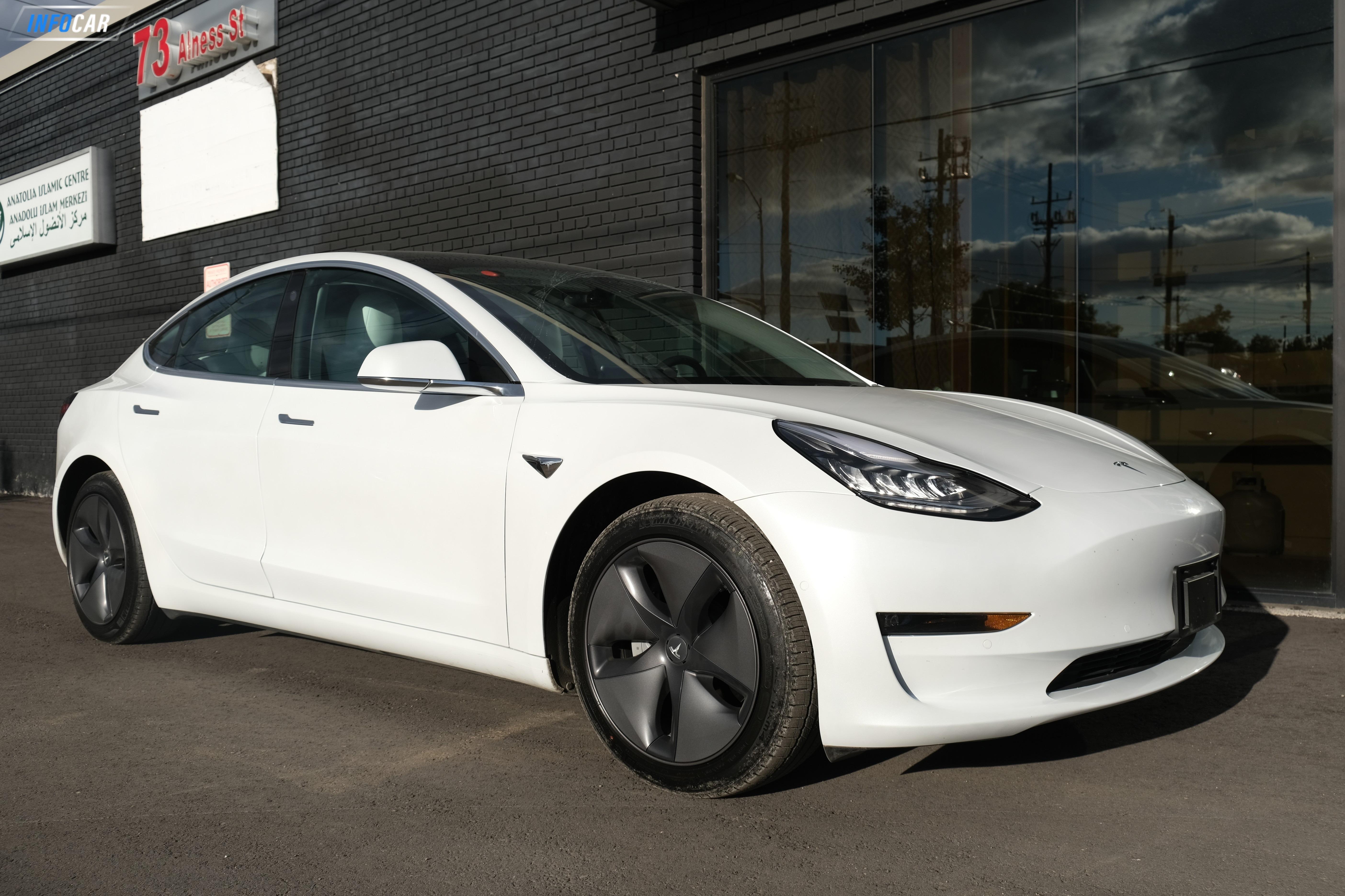 2019 Tesla Model 3 Long Range  - INFOCAR - Toronto's Most Comprehensive New and Used Auto Trading Platform