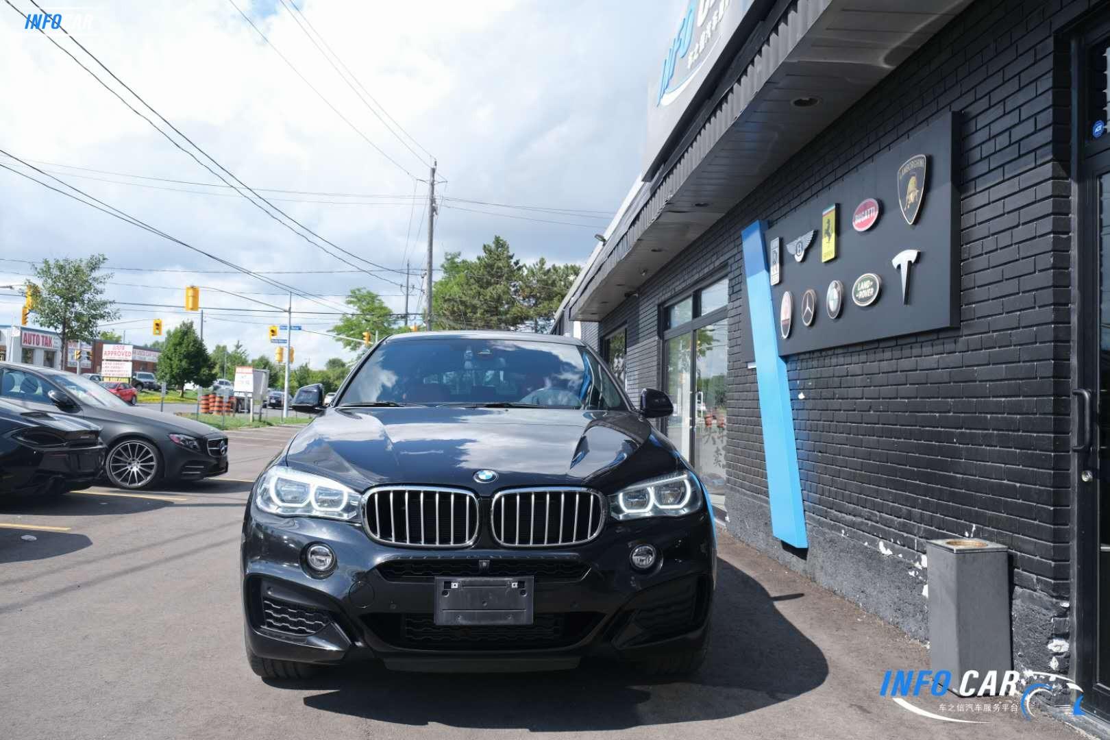 2017 BMW X6 xdrive 50i - INFOCAR - Toronto's Most Comprehensive New and Used Auto Trading Platform