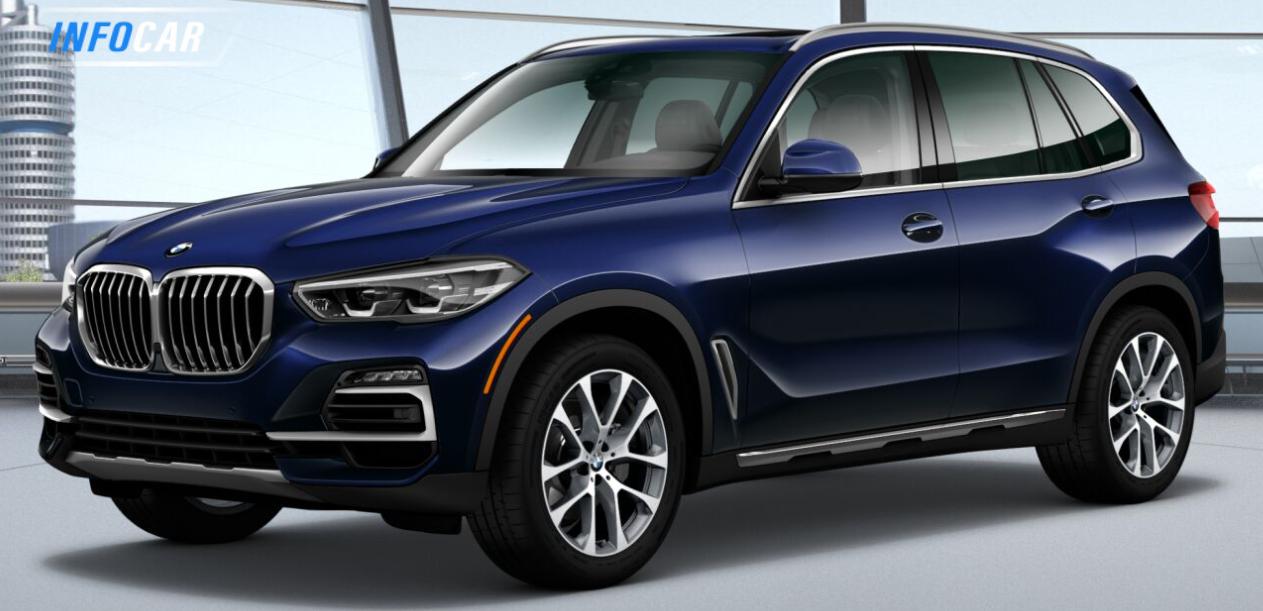 2020 BMW X5 m50i demo - INFOCAR - Toronto's Most Comprehensive New and Used Auto Trading Platform