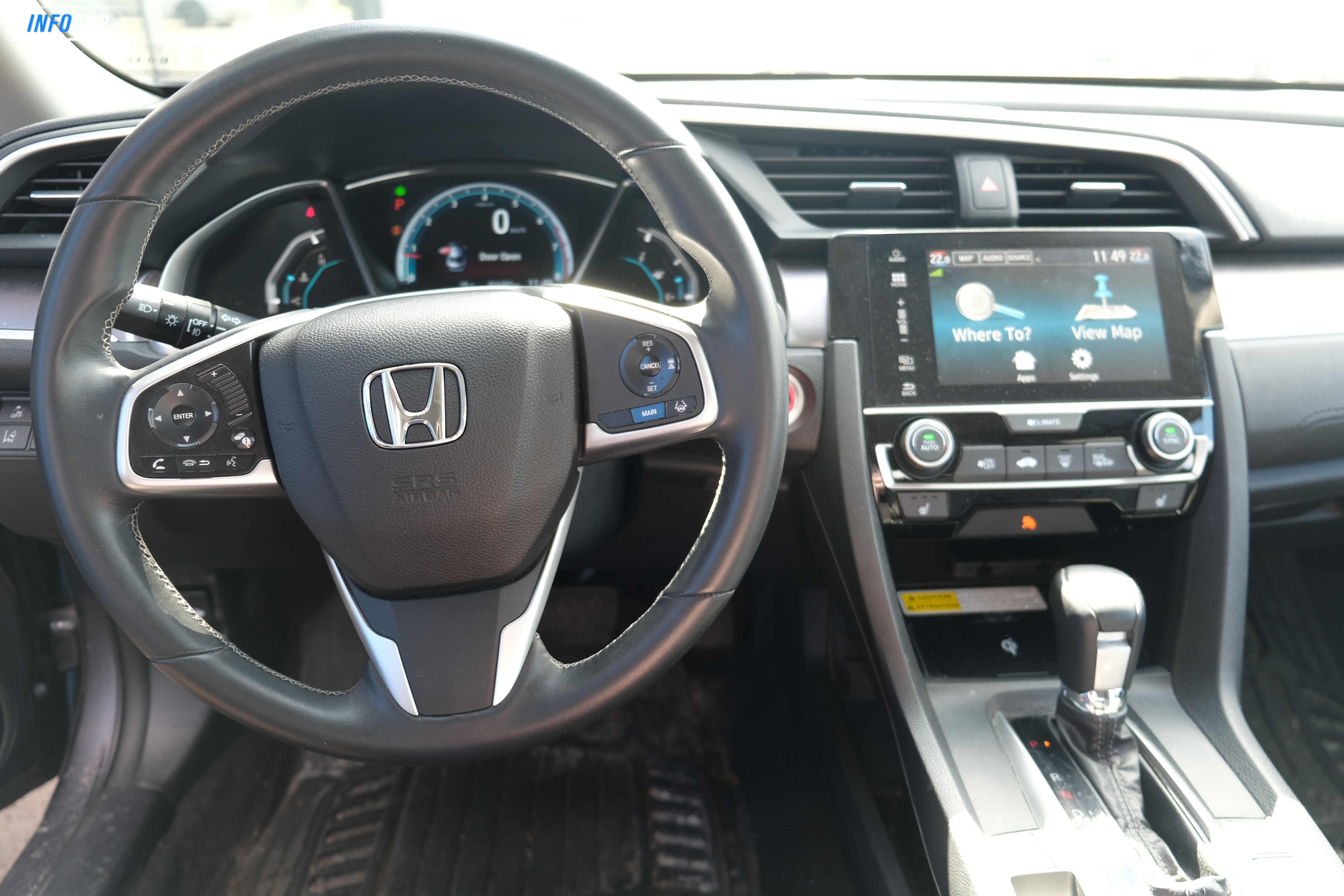 2018 Honda Civic TOURING - INFOCAR - Toronto's Most Comprehensive New and Used Auto Trading Platform