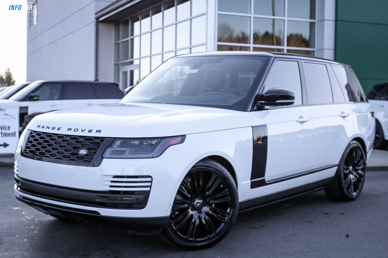 2020 Land Rover Range Rover P25 V8 HSE - INFOCAR - Toronto's Most Comprehensive New and Used Auto Trading Platform