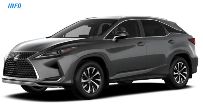 2021 Lexus RX 350  - INFOCAR - Toronto's Most Comprehensive New and Used Auto Trading Platform