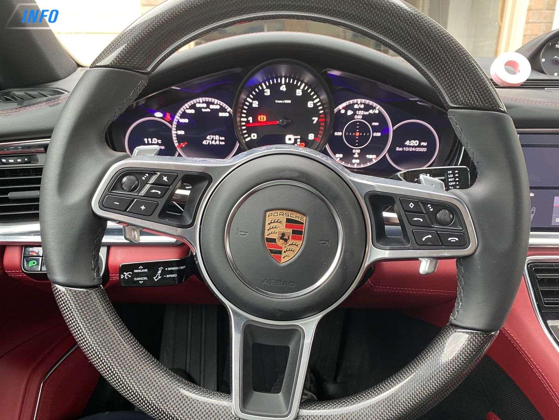 2020 Porsche Panamera 4 - INFOCAR - Toronto's Most Comprehensive New and Used Auto Trading Platform