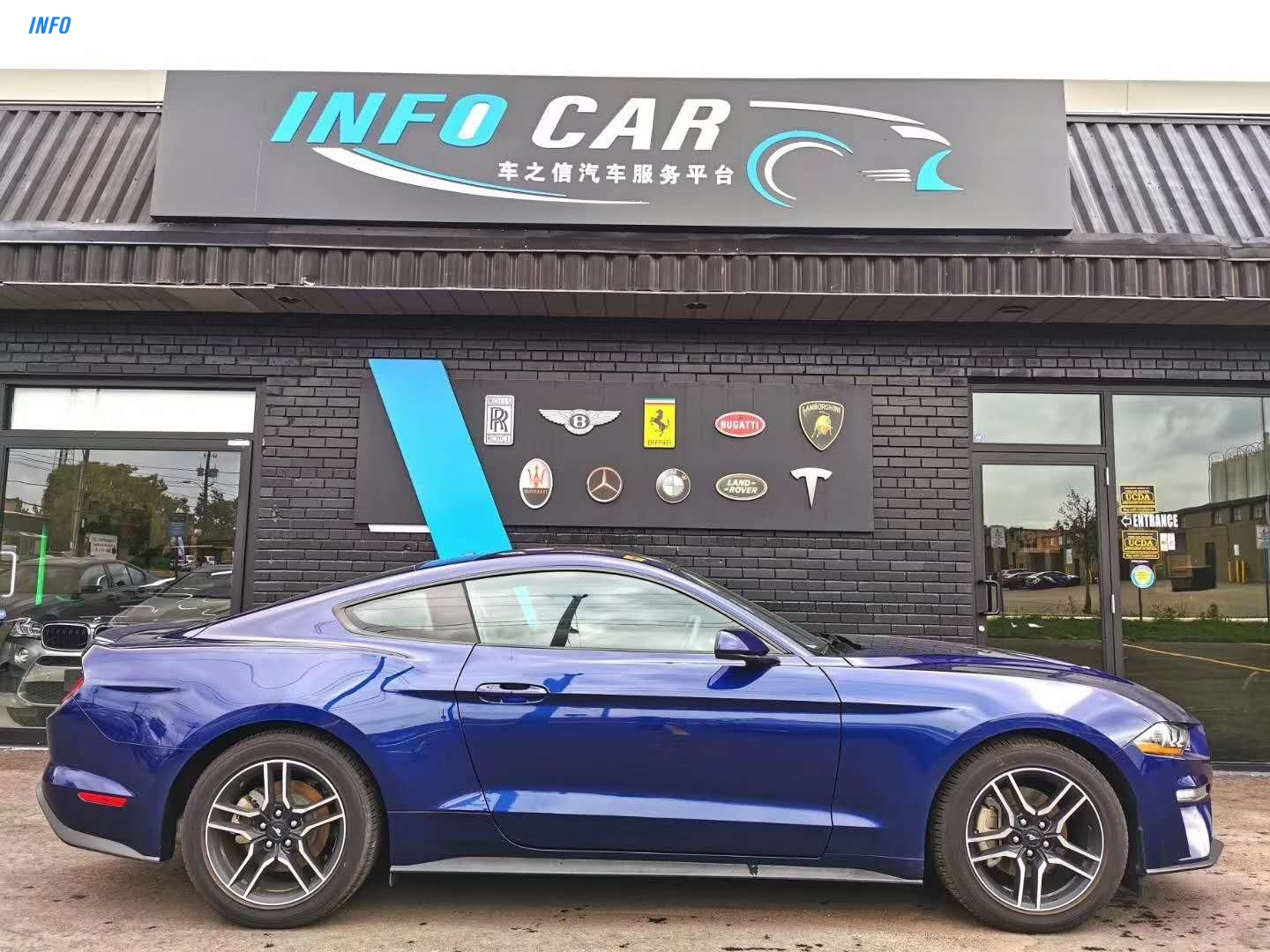 2020 Ford Mustang ECOBOOST - INFOCAR - Toronto's Most Comprehensive New and Used Auto Trading Platform