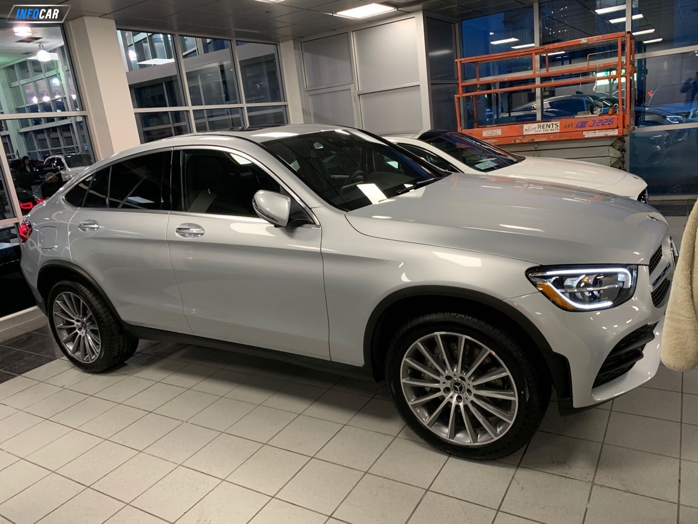2020 Mercedes-Benz GLC-Class 300 coupe - INFOCAR - Toronto's Most Comprehensive New and Used Auto Trading Platform