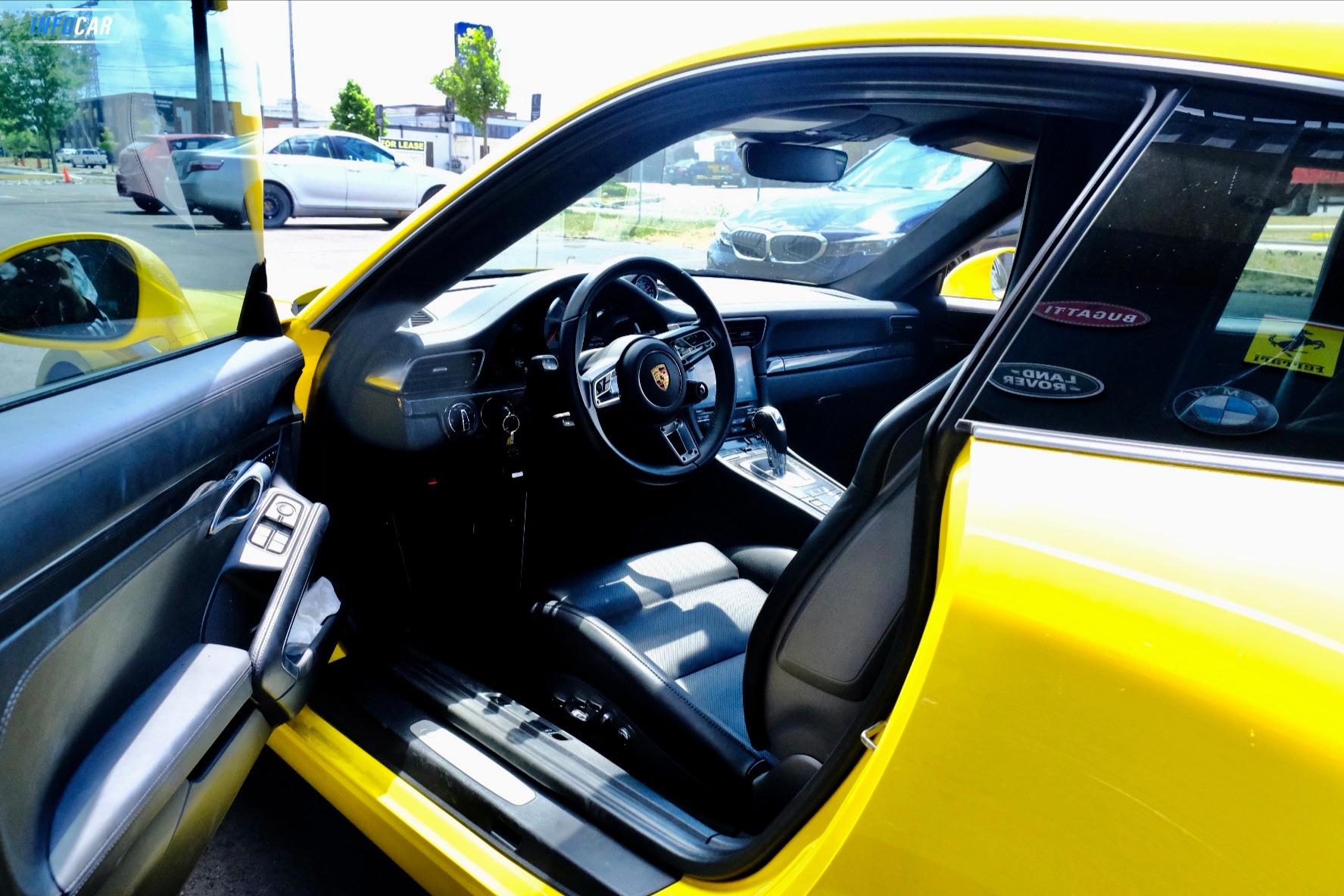 2018 Porsche 911 Carrera S - INFOCAR - Toronto's Most Comprehensive New and Used Auto Trading Platform