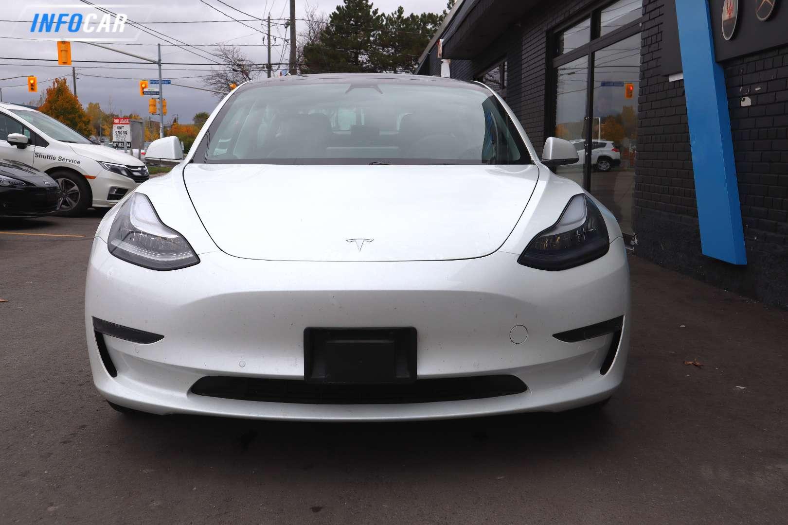 2020 Tesla Model 3 STANDARD RANGE PLUS - INFOCAR - Toronto's Most Comprehensive New and Used Auto Trading Platform