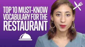 Top 10 Must-Know Vocabulary for the Restaurant - ArabicPod101