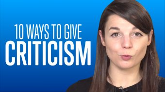 10 Ways to Give Criticism - EnglishClass101
