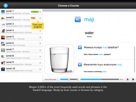 Screenshot 2 - Learn Swahili - WordPower