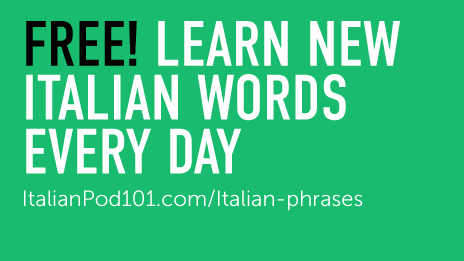 Free italian word of the day widget italianpod101 m4hsunfo