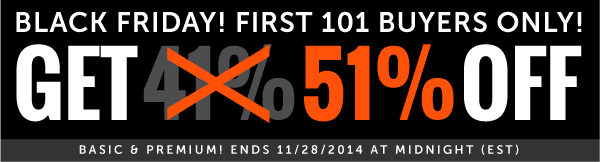 First 101 users Click Here to GET 51% OFF!