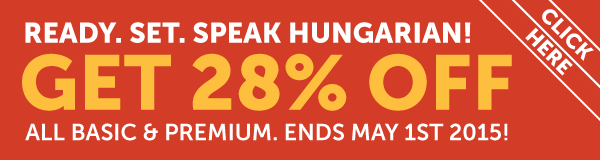Learn Hungarian at 28% OFF Any Basic or Premium Plan!