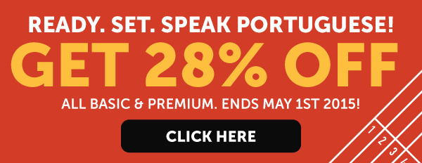 Learn Portuguese at 28% OFF Any Basic or Premium Plan!