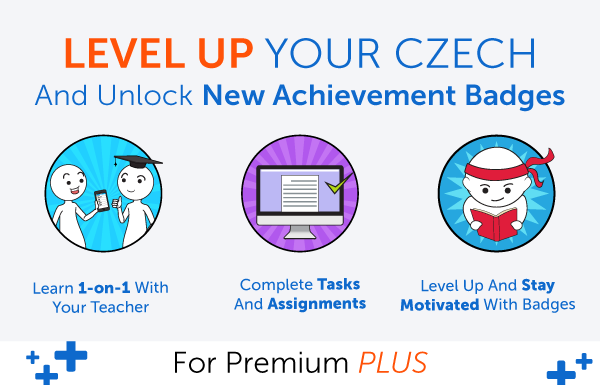 New Feature! Level Up Your Czech and Earn Badges with 1-on-1 Learning