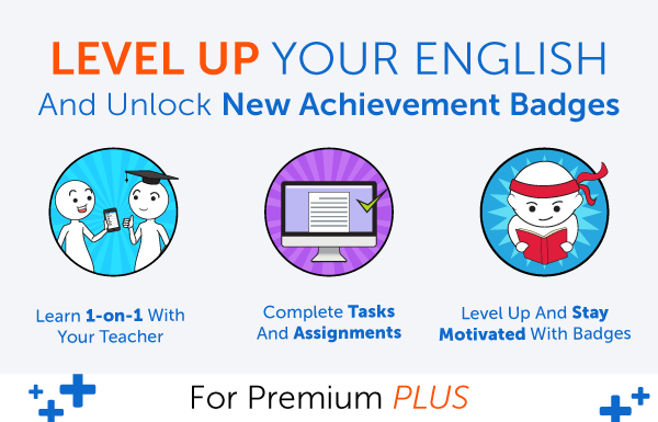 New Feature! Level Up Your English and Earn Badges with 1-on-1 Learning