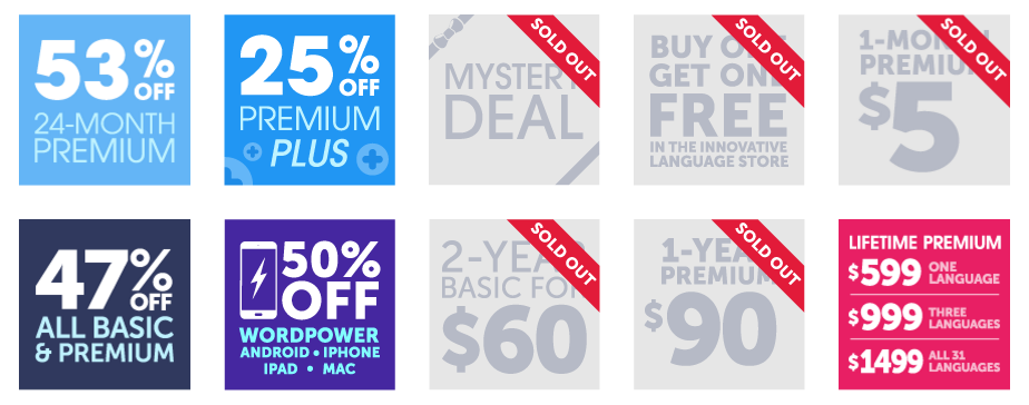 Click here to grab the last of our EPIC 10-Year Anniversary Deals!<br />