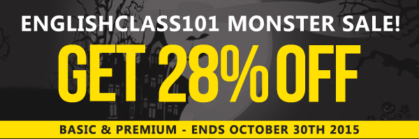 $67 OFF, NEW Study Tool & Spooky English Lesson