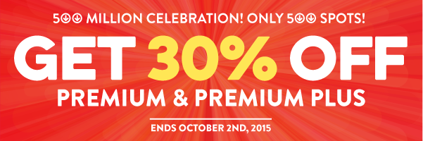 You Got Us to 500 Million! Here's 30% OFF & 2 New Filipino Study Tools for You.