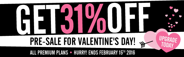 1-Day V-Day Pre-Sale! Click Here to Learn English at 31% OFF!