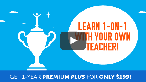 New! 1-on-1 Interaction with Your Own English Teacher
