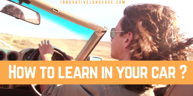 How to Learn Italian in Your Car? Learn language in car