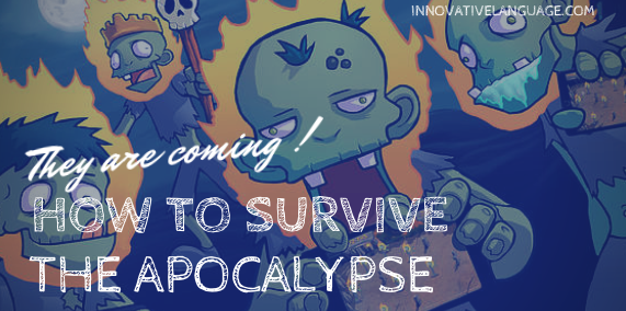 top English words and phrases to survive zombies apocalypse