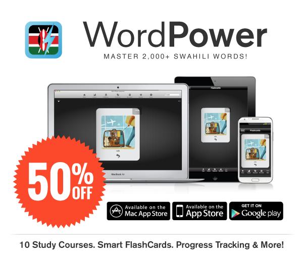 WordPower Learn Swahili Vocabulary