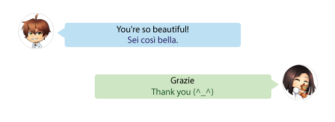 practice Italian together