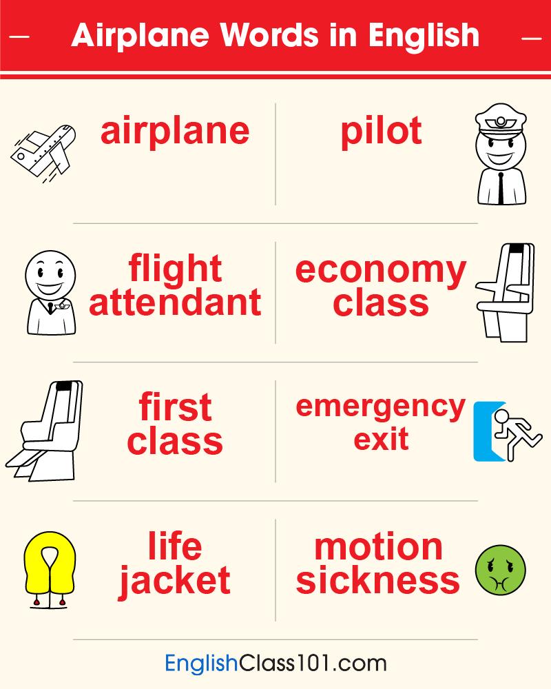 Airplane Phrases