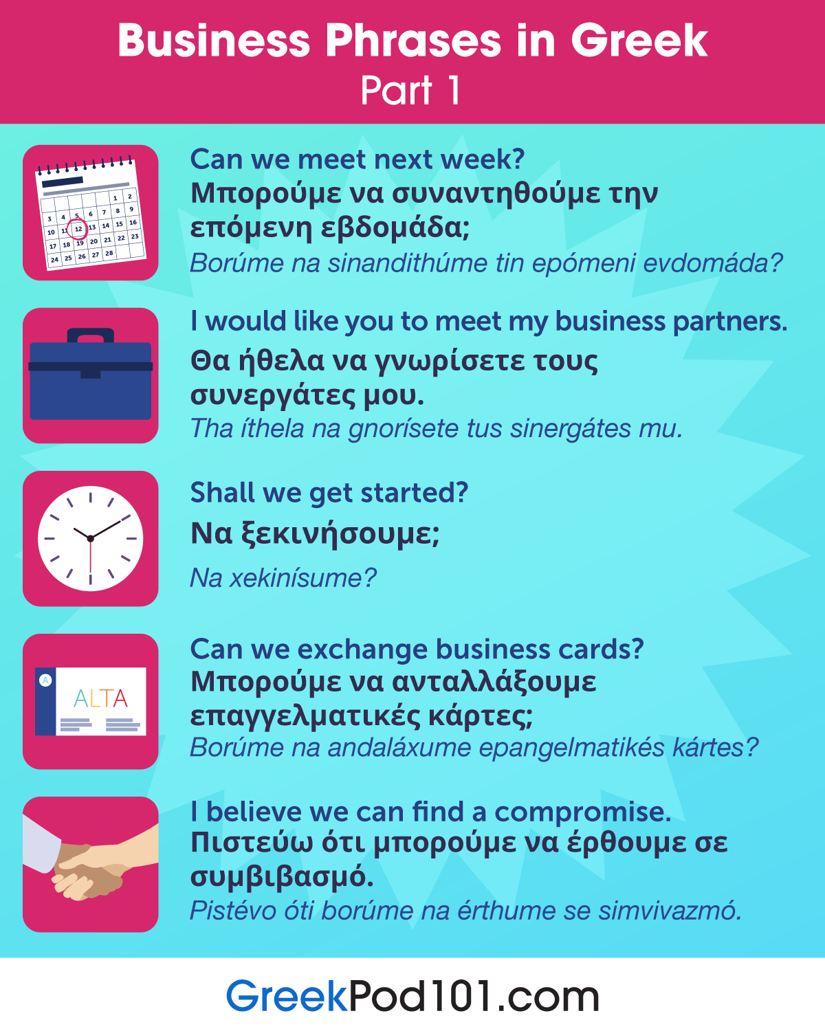 Business Phrases