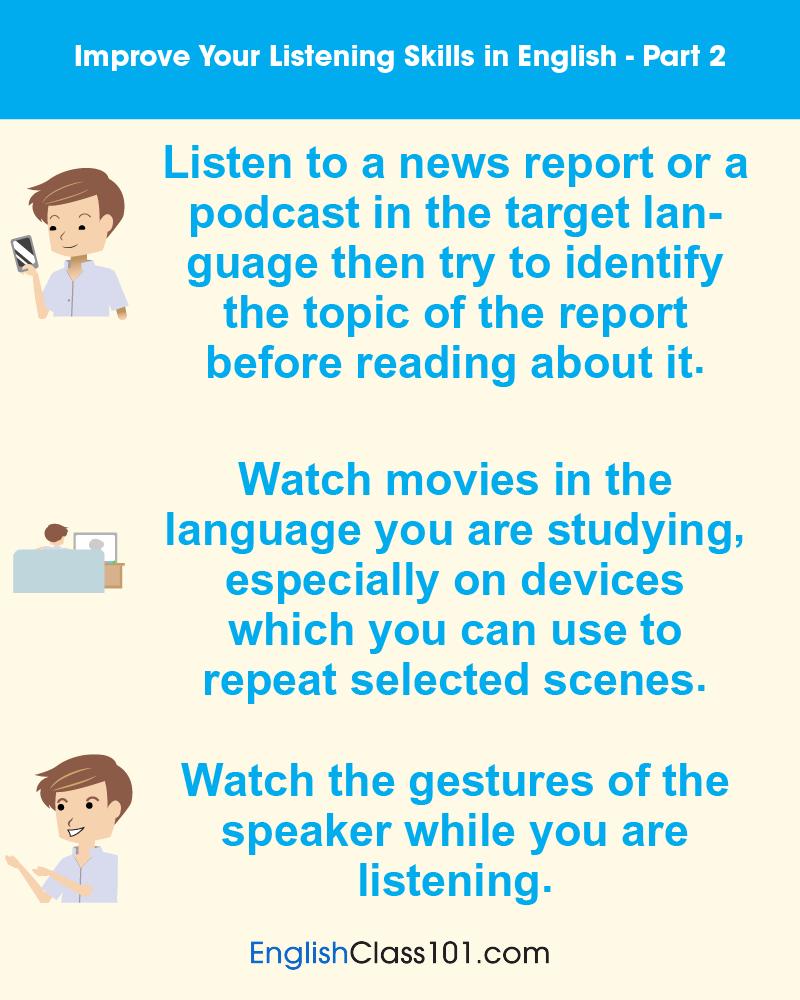 Improve Listening Part 2