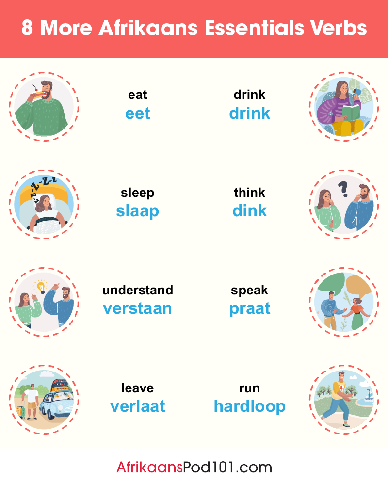 More Essential Verbs