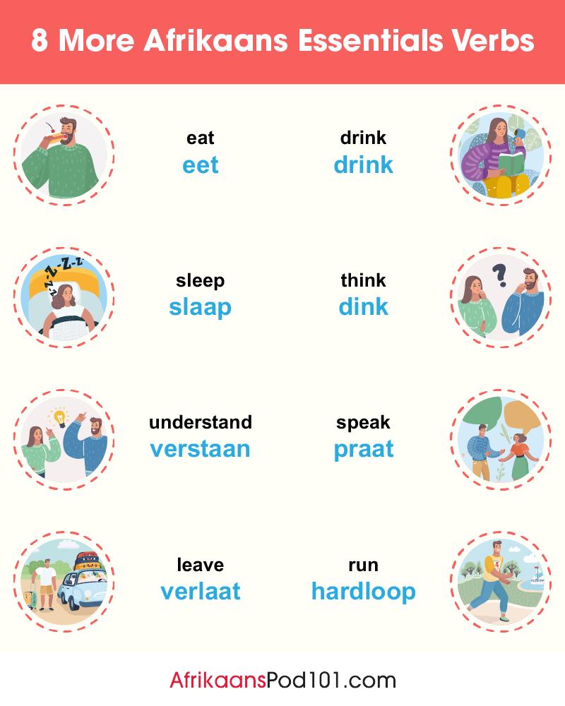 More Essential Verbs