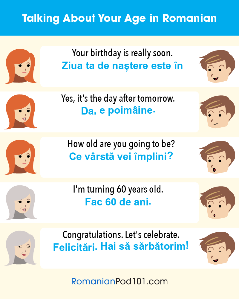 Talking about Age