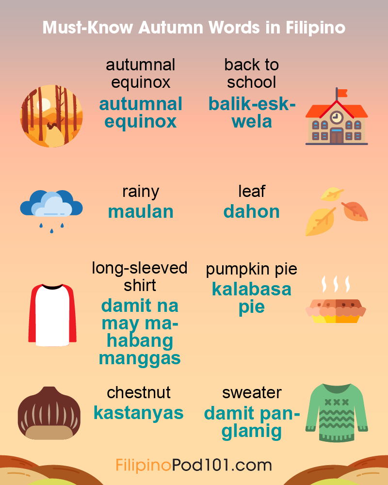 Autumn Phrases