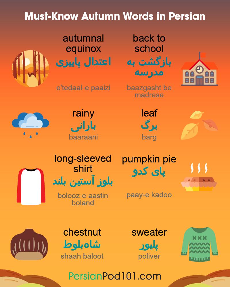 Autumn Phrases