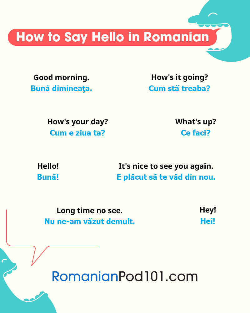 How To Say Hello In Romanian Guide To Romanian Greetings