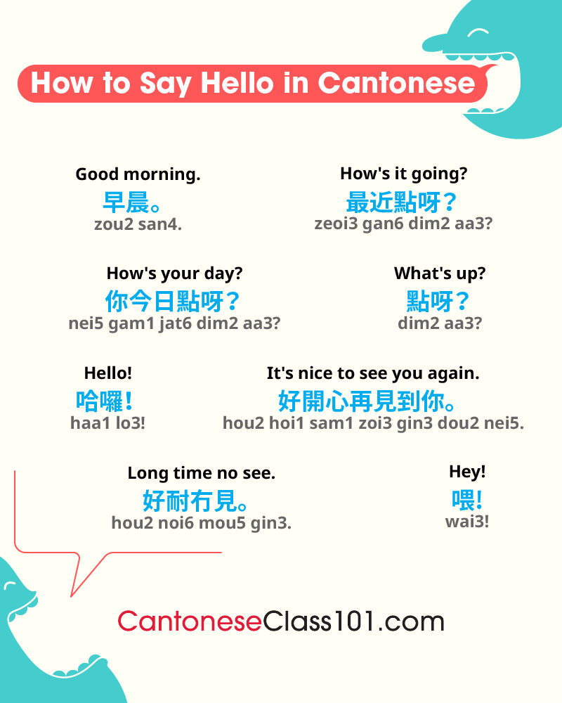 Cantonese Greetings
